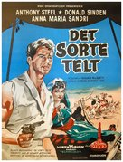 The Black Tent - Danish Movie Poster (xs thumbnail)