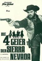 I quattro inesorabili - German poster (xs thumbnail)
