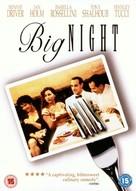 Big Night - British DVD cover (xs thumbnail)