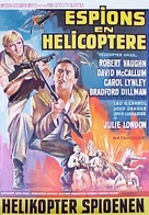 The Helicopter Spies - Belgian Movie Poster (xs thumbnail)