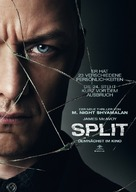 Split - German Movie Poster (xs thumbnail)