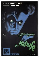 Das Testament des Dr. Mabuse - Spanish Movie Poster (xs thumbnail)