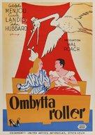 Turnabout - Swedish Movie Poster (xs thumbnail)