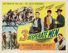 Three Desperate Men - Movie Poster (xs thumbnail)