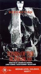 La noche del terror ciego - Australian VHS movie cover (xs thumbnail)