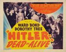 Hitler--Dead or Alive - Movie Poster (xs thumbnail)