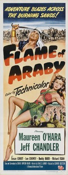 Flame of Araby - Movie Poster (xs thumbnail)