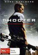 Shooter - Australian DVD cover (xs thumbnail)
