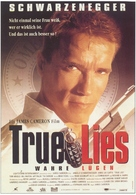 True Lies - German Movie Poster (xs thumbnail)