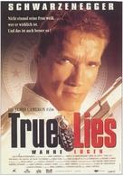 True Lies - German Movie Poster (xs thumbnail)