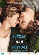 The Fault in Our Stars - Czech Movie Poster (xs thumbnail)