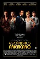 American Hustle - Mexican Movie Poster (xs thumbnail)