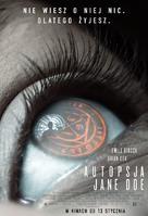 The Autopsy of Jane Doe - Polish Movie Poster (xs thumbnail)