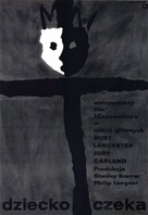 A Child Is Waiting - Polish Movie Poster (xs thumbnail)