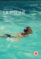 La piscine - British DVD cover (xs thumbnail)