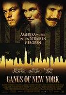 Gangs Of New York - German Movie Poster (xs thumbnail)
