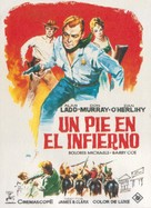 One Foot in Hell - Spanish Movie Poster (xs thumbnail)