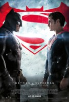 Batman v Superman: Dawn of Justice - French Movie Poster (xs thumbnail)