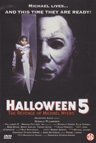 Halloween 5 - Dutch DVD movie cover (xs thumbnail)