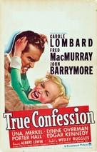 True Confession - Movie Poster (xs thumbnail)