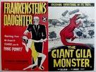 The Giant Gila Monster - British Combo poster (xs thumbnail)