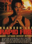 Rapid Fire - French Movie Poster (xs thumbnail)