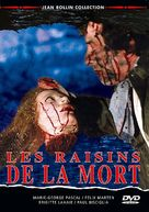 Les raisins de la mort - French DVD cover (xs thumbnail)
