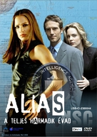 """Alias"" - Hungarian DVD movie cover (xs thumbnail)"