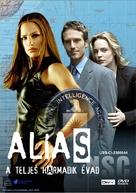 """Alias"" - Hungarian DVD movie cover (xs thumbnail)"
