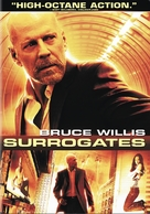 Surrogates - DVD cover (xs thumbnail)