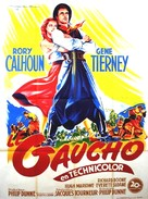 Way of a Gaucho - French Movie Poster (xs thumbnail)