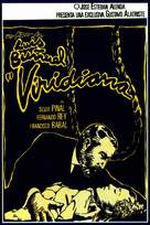 Viridiana - Spanish Movie Poster (xs thumbnail)