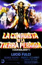 Conquest - Spanish VHS cover (xs thumbnail)