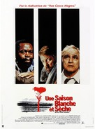 A Dry White Season - French Movie Poster (xs thumbnail)
