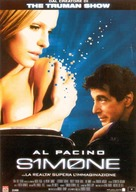 S1m0ne - Italian Movie Poster (xs thumbnail)