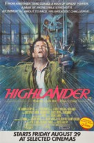 Highlander - British Movie Poster (xs thumbnail)
