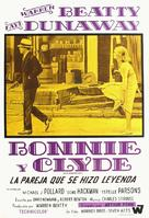 Bonnie and Clyde - Argentinian Movie Poster (xs thumbnail)