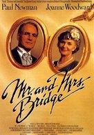 Mr. & Mrs. Bridge - German Movie Poster (xs thumbnail)