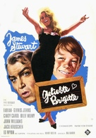 Dear Brigitte - German Movie Poster (xs thumbnail)