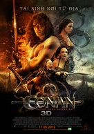 Conan the Barbarian - Vietnamese Movie Poster (xs thumbnail)