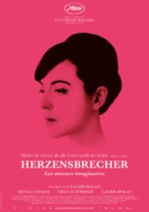 Les amours imaginaires - German Movie Poster (xs thumbnail)