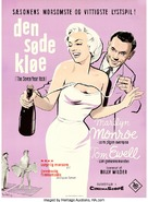 The Seven Year Itch - Danish Movie Poster (xs thumbnail)