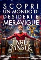 Jingle Jangle: A Christmas Journey - Italian Movie Poster (xs thumbnail)
