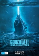 Godzilla: King of the Monsters - Australian Movie Poster (xs thumbnail)