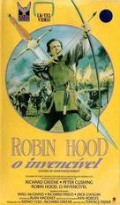 Sword of Sherwood Forest - Brazilian VHS cover (xs thumbnail)