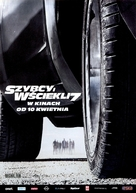 Furious 7 - Polish Movie Poster (xs thumbnail)