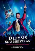 The Greatest Showman - Lithuanian Movie Poster (xs thumbnail)