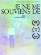 Je ne me souviens de rien - French DVD cover (xs thumbnail)