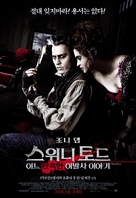 Sweeney Todd: The Demon Barber of Fleet Street - South Korean Movie Poster (xs thumbnail)