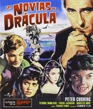 The Brides of Dracula - Spanish Movie Cover (xs thumbnail)